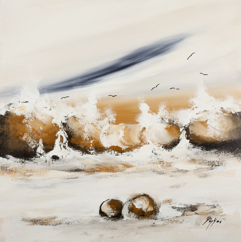 COAST 1 - Original Painting - wymiary 70x70cm