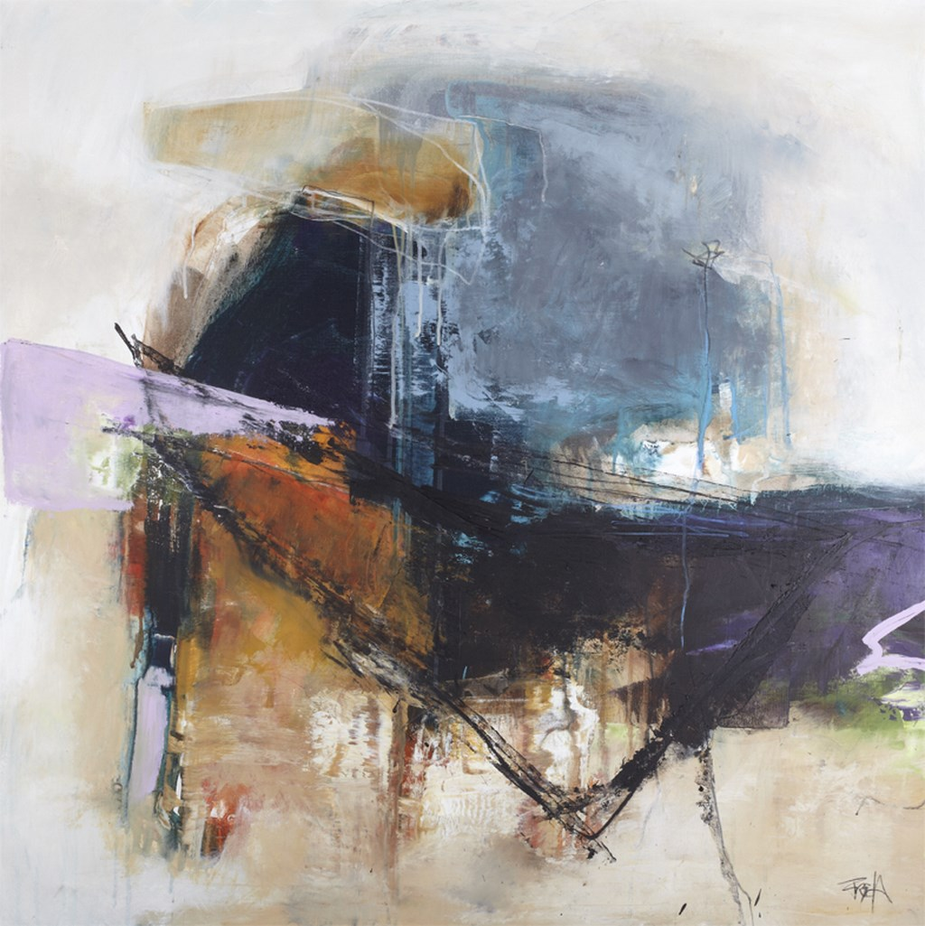SECRETS 1 - Original Paintings - wymiary 100x100cm